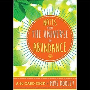 COPY - Notes from the Universe on Abundance card …